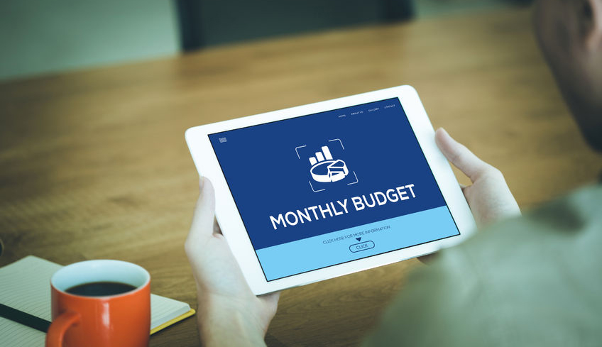 monthly-budget-concept